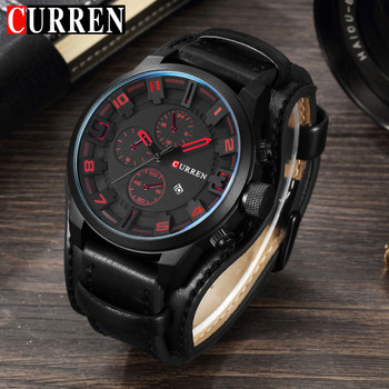 CURREN Watches Men Watch Luxury Brand Analog Men Military Watch Relogio Masculino Whatch Men Quartz Curren Male Sports Watches