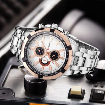CURREN Man Watches Design Men Waterproof Watches Men Casual Sports Watches Fashion Quartz Wristwatches Relogio Masculino