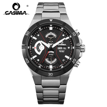 2017 Top-selling Luxury Brand watches men fashion casual multi-function sport mens quartz wrist watch waterproof 100mCASIMA#8204