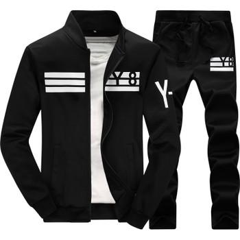 Sportwear Pants 2016 New Autumn Tracksuit Man Men Fashion brand Tracksuits Outwear Set 2 pieces Sportswear