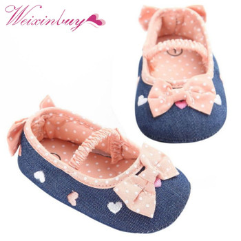 0-18M Soft Soled Girls baby Shoes First Walkers Bow Prewalker Crib Shoes,Bebe Shoes,Baby Girl Shoes2