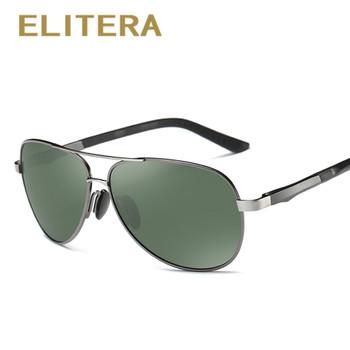 ELITERA Aluminum Magnesium Brand Polarized Sunglasses Men New Design Fishing Driving Sun Glasses Eyewear Oculos Gafas De So E210