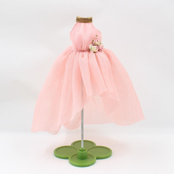 Blyth Doll clothes dress pink dress ceremonial robe or dress formal attire flower dress, only for 1/6 doll, 30cm