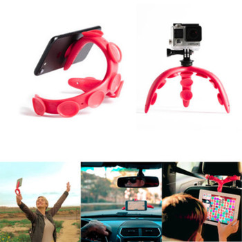 Phone Holder Flexible Octopus Shape Bracket Selfie Stand Mount Styling Accessories For Mobile Smart Phone Tripod Multi-Function