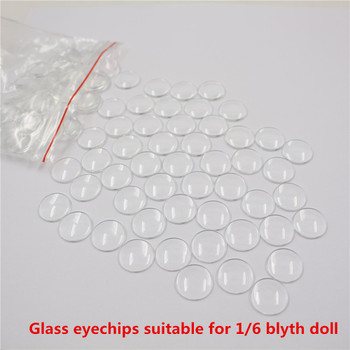 1/6 blyth doll glass eyechips high quality pupils with transparent color suitable for 30cm Blyth doll