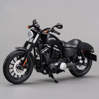 Maisto 2014 Sportster Iron 883 1:12 Motorcycles Diecast Metal Sport Bike Model Toy New in Box For Collect