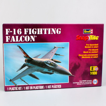 1:100 scale Revell snap tite F16 Fighting Falcon P-51 Mustang Spitfire A-10 Thunderbolt war plane air craft Fighter model toy