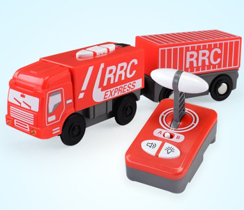 for wooden track Brio track RRC EXPRESS TRUCK RRC EMU combination remote control electric locomotive compatible magnetic