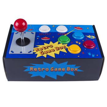 SunFounder Raspberry Pi Retro Game Box DIY Arcade Fighting Joystick Push Buttons Controller+ TF 8g Card