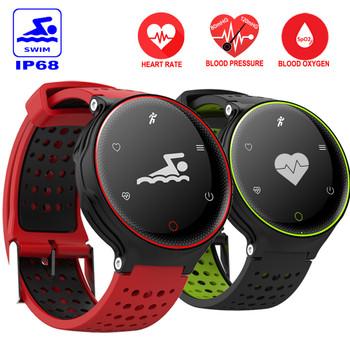 IP68 Waterproof Sport Smart Watch N2 Wristwatch Heart Rate Monitor Blood Pressure Band Wearable Devices Fitness Tracker Bracelet