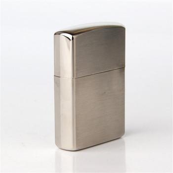 Cigarette Accessories Copper Material Cross Bow Engraving Metal Kerosene Lighter