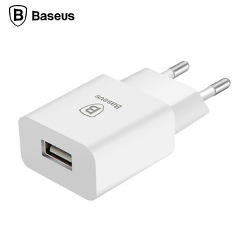 Baseus Universal USB Charger EU Plug Travel Wall Charger Adapter Smart Mobile Phone Charger For iPhone Samsung Xiaomi Tablet