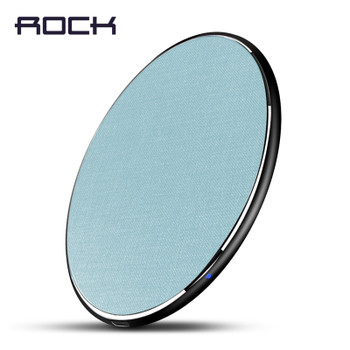Qi Wireless Charger for iPhone X Xs max XR , ROCK 10W Fast wireless Phone charger for Samsung Galaxy S9/8 Note 9 charging pad