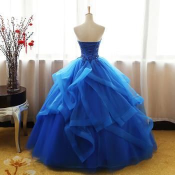 8 Layers Luxury Vintage Lace Ball Gown Quinceanera Dress Ruched Crystal Organza Vestidos De 15 Debutante Gowns Bohemia Princess
