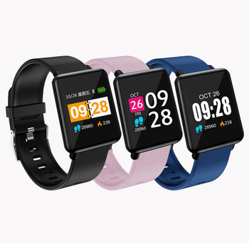 Centechia 2019 New Women Sport Fitness Tracker Pedometer Bracelet Healthy Blood Pressure Heart Rate Monitor For Xiaomi A1 A2 8