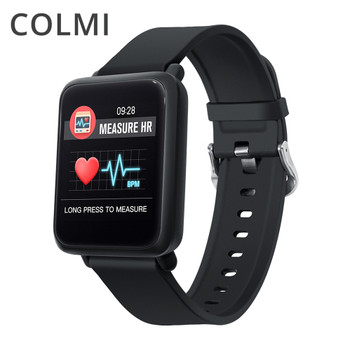 COLMI Smart Watch Square Screen Heart Rate Monitor Blood Pressure Oxygen Multi Sport Mode Waterproof Smartwatch for iOS Android
