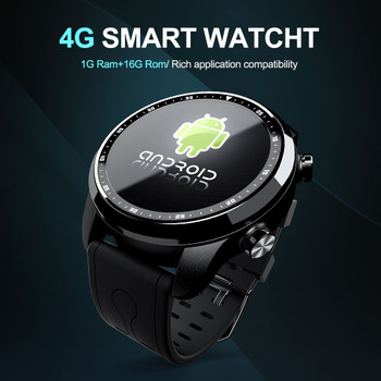 LOKMAT Android Smart Watch Phone Heart Rate monitor Bluetooth Waterproof 1GB/16GB WIFI GPS 4G Men Smartwatch For ios