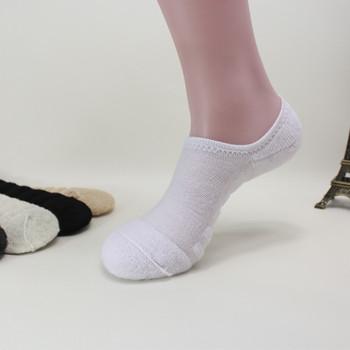 6pcs=3pairs/lot men's invisible towel style cotton Socks stripe boat anti slip, high qualtiy new big size