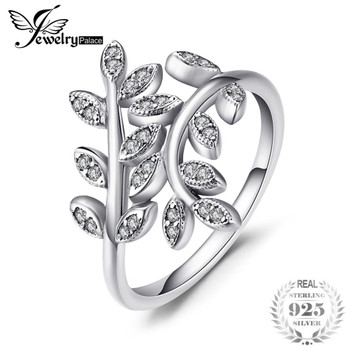 Jewelrypalace 925 Sterling Silver Olive Statement Open Rings For Women Original Handmade Lady Sterling Silver Rings Jewelry