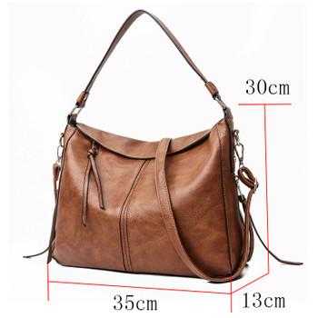 b4878068a178 luxury handbags women shoulder bag large tote bags hobo soft leather ladies  crossbody messenger bag for