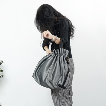 women nylon cloth handbag  shoulder bag simple folding messenger bag large capacity handbags Original design