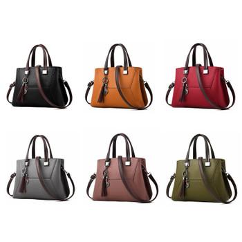 Fashion Tassel 2018 Women Handbag Luxury Brand Clutch Female Crossbody Bags  Soft Leather Designer Large Lady d77567f8a9575