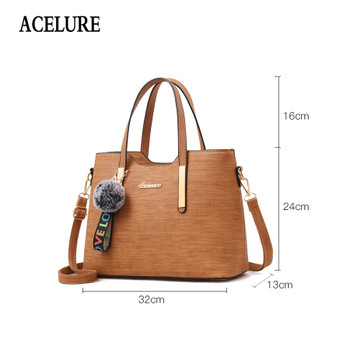 64d4ed2ad927 ACELURE Women shoulder bags Casual Tote crossbody bags for women 2018 luxury  handbags women bags designer
