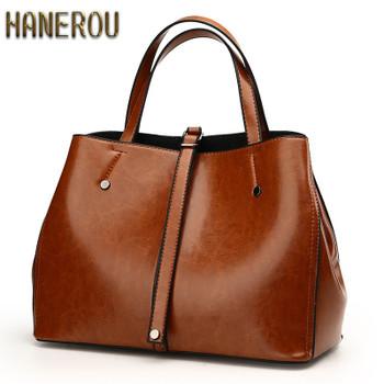 Spring Fashion Women Bag Luxury Brand 2018PU Leather Shoulder Bags Vintage Ladies  Bags Brands Designer Handbags 3a31deda8633b