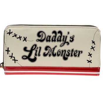 Harley Quinn Daddys Lil Monster Jrs Zip Around Wallet DFT-1888