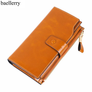 2018 Brand Women Wallets Fashion Designer Short Wallets Female Genuine Leather Women Clutch Handbag Cards Holder Coin Purse
