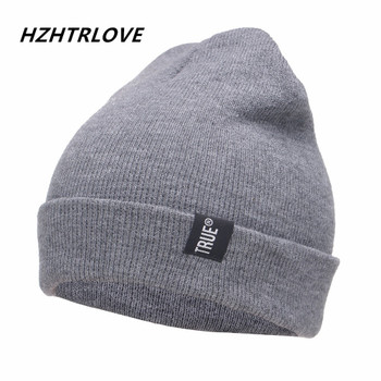 028d315c2b9 Letter True Casual Beanies for Men Women Fashion Knitted Winter Hat Solid  Color Hip-hop · Choose Options