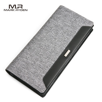 Mark Ryden New Wallet Long Wallet for Men Large Capacity Oxford Purse for Yong People Card Holder