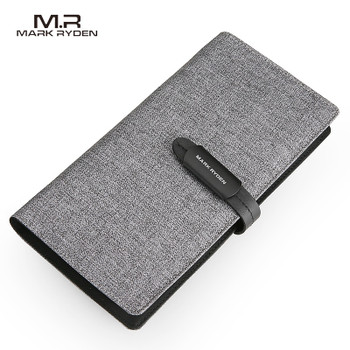 Mark Ryden New Arrival Wallet Men Long Wallet Card Holder Large Capacity Casual Style Purse For Teenagers