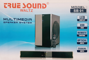 WALTZ True sound Multimedia Wireless Home Theater System HD 14000 PMPO (SB 01) (home theater system (SB 01))