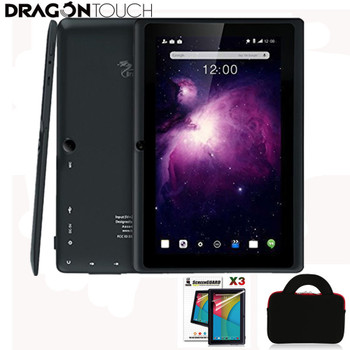 DragonTouch Y88X Plus 7 inch Tablet Quad Core Android 5.1 1GB / 8GB Dual Camera + Tablet bag+ Screen Protector
