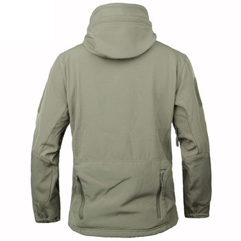 KOMBAT TROOPER TACTICAL SOFT SHELL SHARK SKIN JACKET ARMY WINDPROOF SECURITY