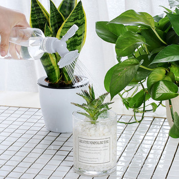 Houseplant Garden 2In1 Plastic Succulent plants Sprinkler Nozzle For Flower Waterers Bottle Watering Cans Sprinkler