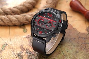 CURREN New Men Watches Luxury Brand Sports Wristwatch Army Military Quartz Male Clock Relogio Masculino Montre Homme