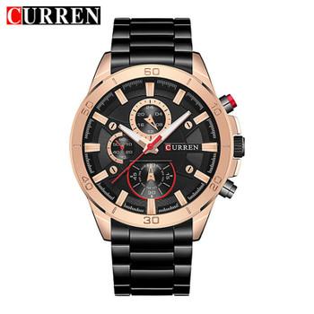 CURREN 2018 New Top Brand Luxury Watch Men Fashion Quartz Wristwatches Male Clock Army Military Sport Watches Relogio Masculino