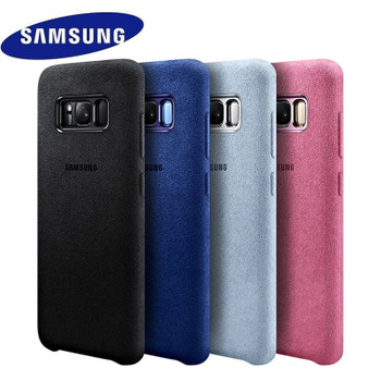 Samsung S8 Case Luxury Original Official Genuine Car Suede Leather Protector Cover Samsung Galaxy S8 Plus Case Galaxy S8 S8+