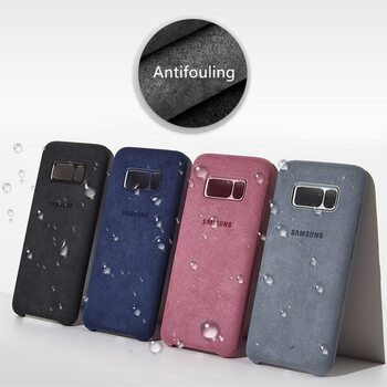 Original Samsung Galaxy S8 Plus Suede Leather Case Washable Back Protective Cover For Galaxy S8/S8+ With Package