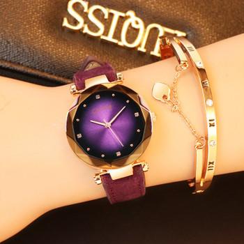 Crystal Womens Watches Luxury Dress Relojes Brand Gogoey Women Elegant Quartz Wristwatch Mujer Pu Leather Watch Feminino Montre