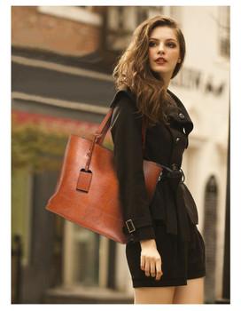 GORONLY Brand New Leather Tote Bag Women Handbags Designer Large Capacity Shoulder Bags Fashion Lady Purses Crossbody Bag Bolsas