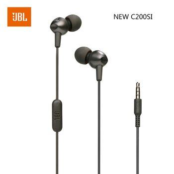 JBL C200SI in-Ear Wired Earphones Headphones 3.5mm with Mic