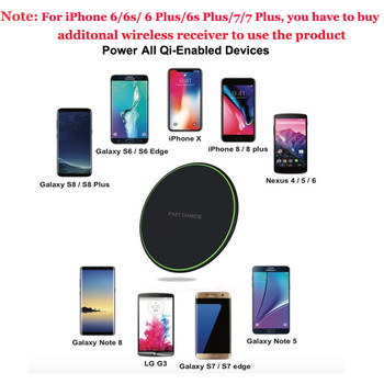 Oppselve Qi Wireless Charger For iPhone X Xs Max Xr 8 P Samsung Galaxy Note 9 8 S9 S8 S7 Edge Desktop Fast Wireless Charging Pad