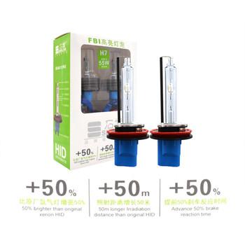 SKYJOYCE Super Bright AC 35W 55W Xenon H1 H3 9005 9006 H11 H7 HID Xenon Bulb D2H Projector Bulb 5500K White Car Headlight Bulb