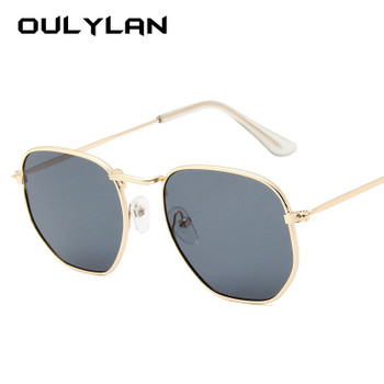 9ee81bb0fd Oulylan Vintage Polygon Sunglasses Women Men Brand Small Frame Clear Lens Sun  Glasses UV400 Female Luxury