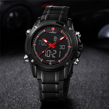 Top Luxury Brand NAVIFORCE Men Watches Military Waterproof LED Digital Sport Men's Clock Male Wrist Watch relogio masculino 9050