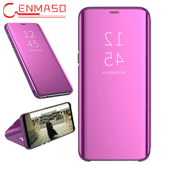 For Samsung Galaxy Note 9 Case for Samsung Note 8 5 S8 S9 Plus S7 S6 Edge J4 J6 J8 A5 A6 A8 Plus 2018 A9 Star Mirror Flip Cases