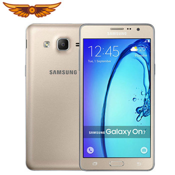 Original Unlocked Samsung Galaxy On7 G600F Quad Core 5.5 Inch 1.5GB RAM 16GB ROM LTE 13MP Camera Dual SIM Android Mobile Phone
